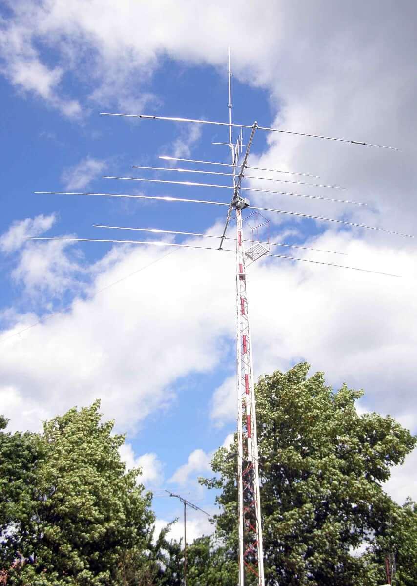 maszt antenowy SP4KEV