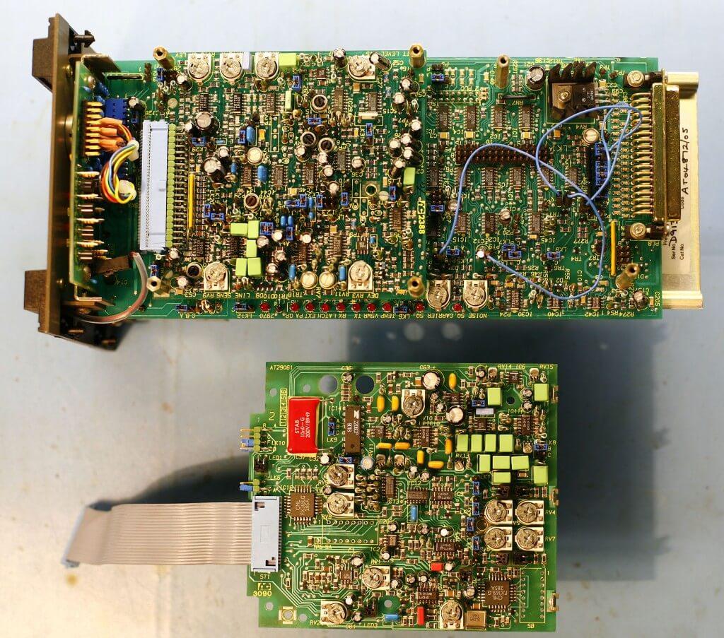 Kontroler przemiennika Philips FX5000 i płytka CTCSS